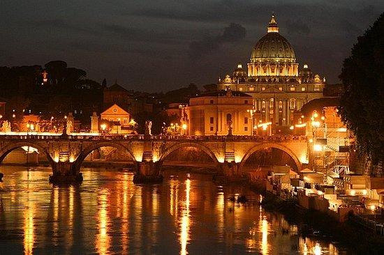 Panoramatour Rom bei Nacht