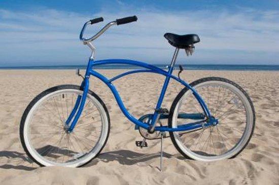 南海滩的全日自行车租赁服务