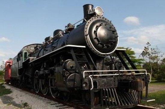 Klassieke stoomtrein naar Zipaquira