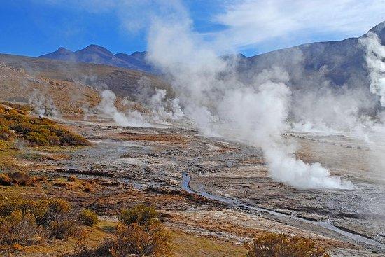 Tour dei geyser di El Tatio da San