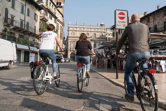 Excursão de bicicleta e Verona