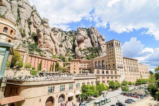 Montserrat kloster og naturpark...