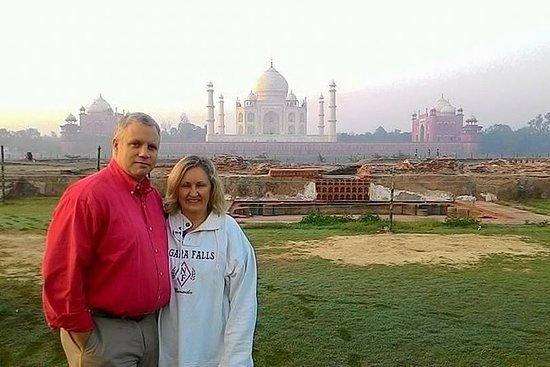 Privat Agra Day Tour Inkludert Taj...