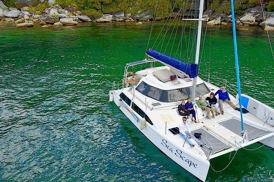 Luxury Yacht and Catamaran Sailing...