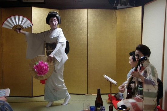 Geisha Party with Dinner and Sake in...