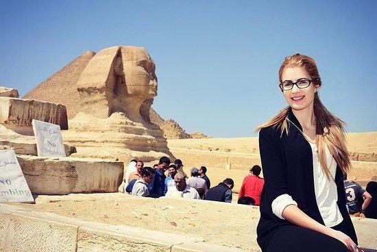 Heldagstur fra Kairo: Pyramidene i...