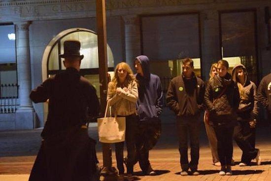 El tour nocturno a pie de Salem