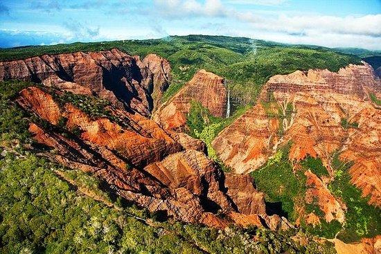 瓦胡岛到考艾岛一日游:威美亚峡谷和蕨类石窟