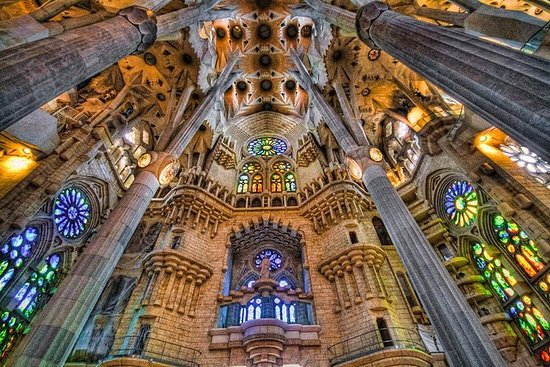 巴塞罗那的Sagrada Familia和Park Guell私人家庭游