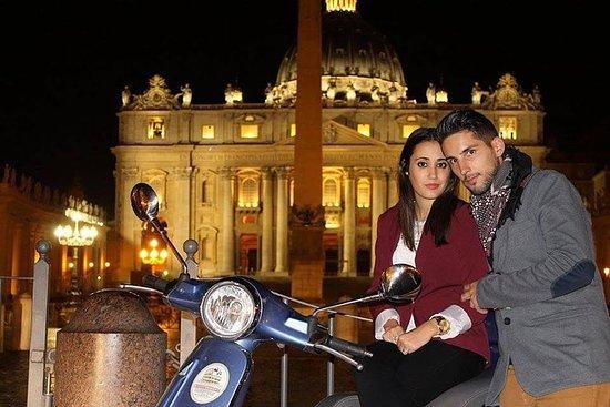 私人罗马之夜Vespa之旅