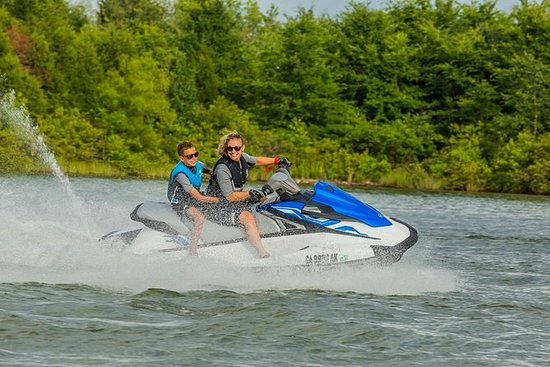 To-timers Twin Jet Ski Island Safari...