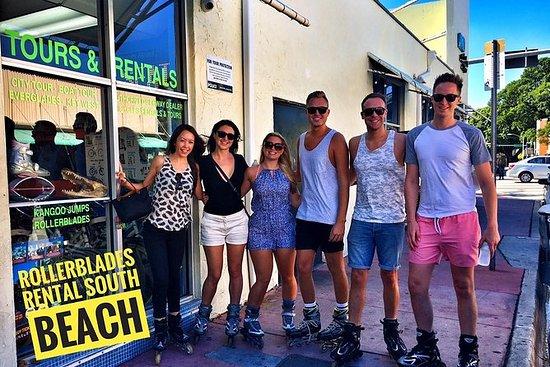 Rollerblade出租在迈阿密海滩