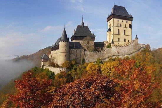 从布拉格到Karlstejn城堡的私人半日游