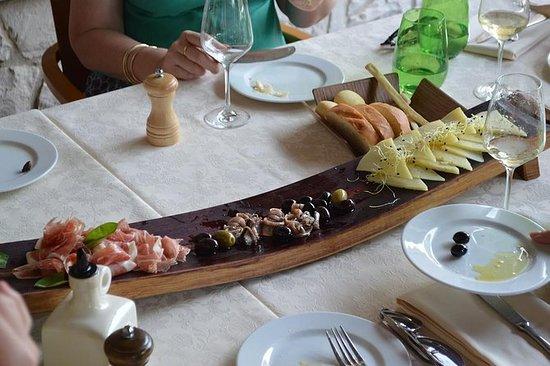 Tour gastronomico privato sull'isola