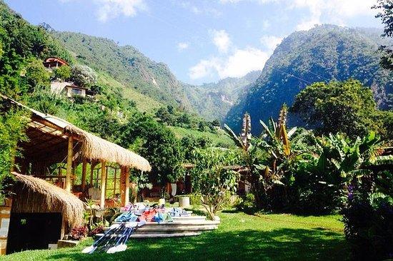 Repos et détente au lac Atitlan...