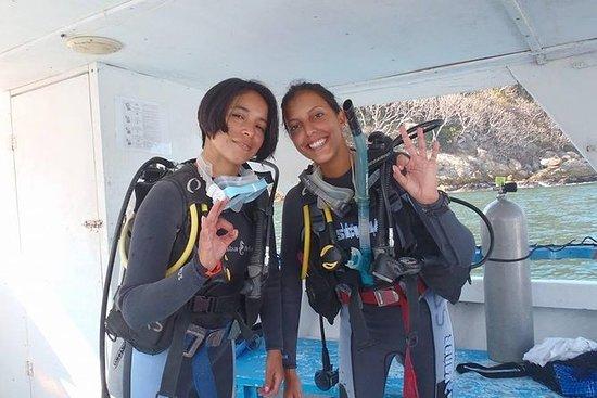 Immersione in barca a 2 serbatoi in