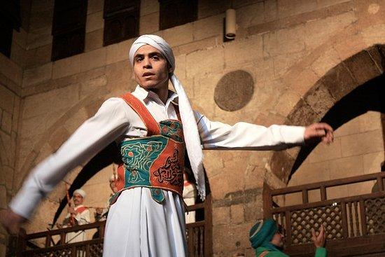 Suffi Dance Show i islamsk Kairo