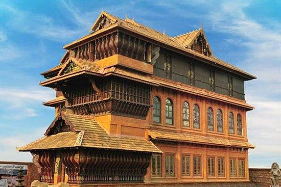 Visite du musée du folklore du Kerala...