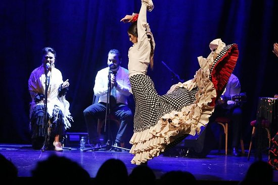 Flamenco Show på THEATER Barcelona...