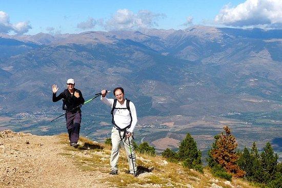 Randonnée dans les Pyrénées au départ...