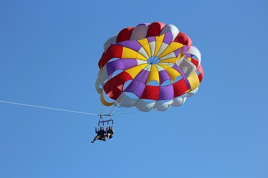 Parasail oplevelse i St. Thomas