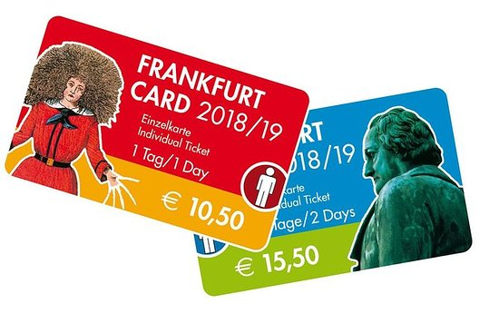 Carte groupe Francfort valable 1jour