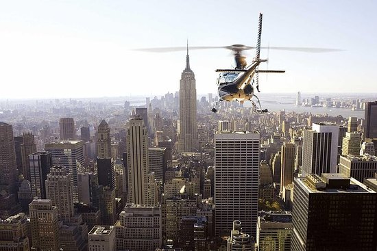 New York City Private Helicopter Tour...