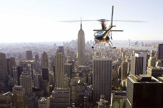 纽约市私人直升机之旅与香槟吐司