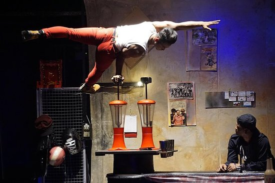 Dinner and Show at Phare Circus