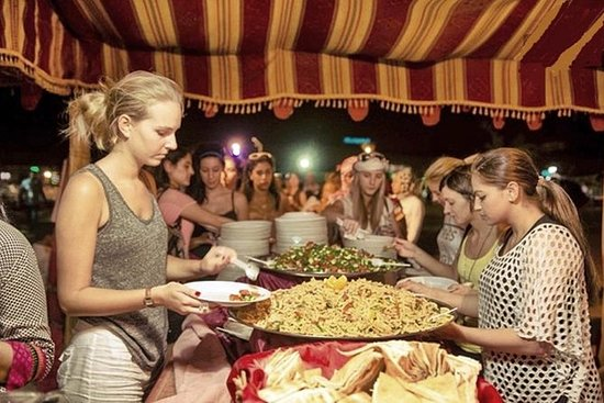 Dubai Desert Dinner with Traditional...