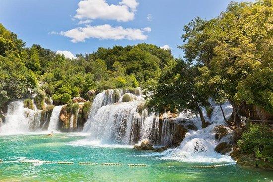 De tirar o fôlego cachoeiras Krka...