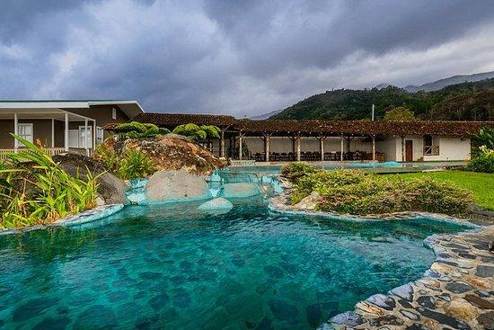 Irazu vulkan og Hacienda Orosi varme...