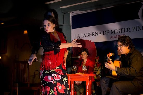 Flamencoshow in Madrid in La Taberna ...