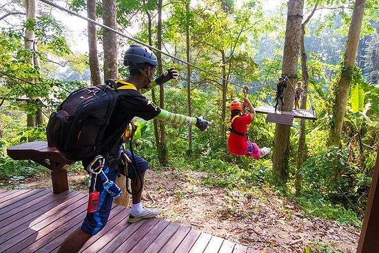 Flying Hanuman - Parque Phuket Zipline