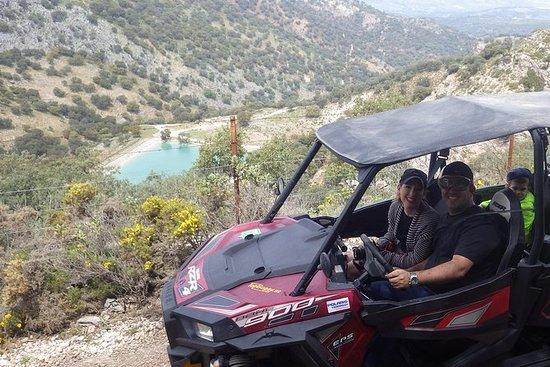 In een buggy door de natuur