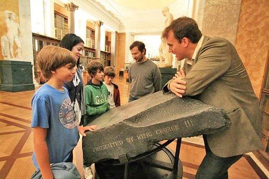 Petit groupe Londres British Museum...