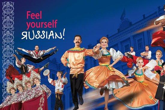 Noite popular da mostra do russo de...