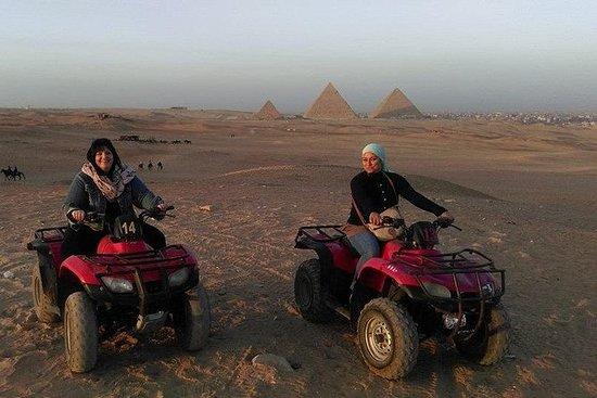 Half-Day Giza Pyramids Quad Bike Tour...