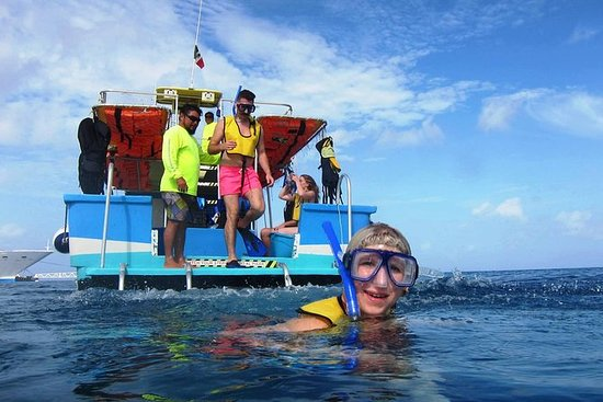Cozumel Coral Reef Snorkling ved...