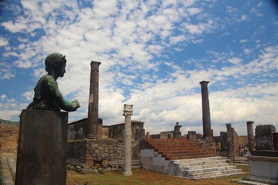 Viagem de um dia às ruínas de Pompeia...