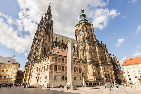 Visite à pied du château de Prague et...