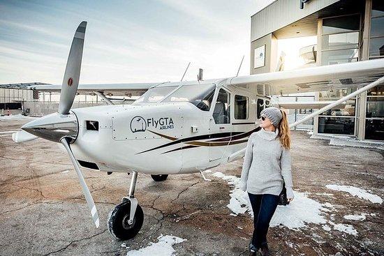 多伦多100公里空中之旅和加拿大国家电视塔飞过香槟