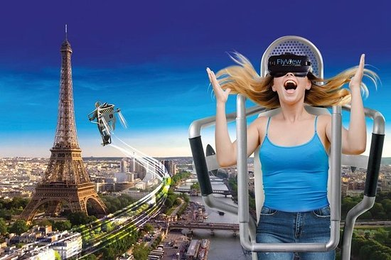 The Incredible Flyover: Spectacular Flight over Paris in Virtual Reality
