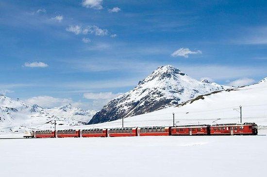 Lago Como, San Mauricio y tren...