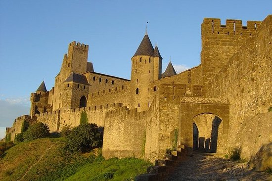 Visita de meio dia a Carcassonne...