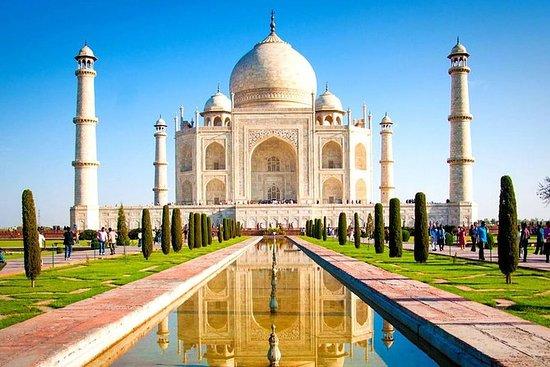 Delhi-Agra-Delhi En dagstur med Indias...