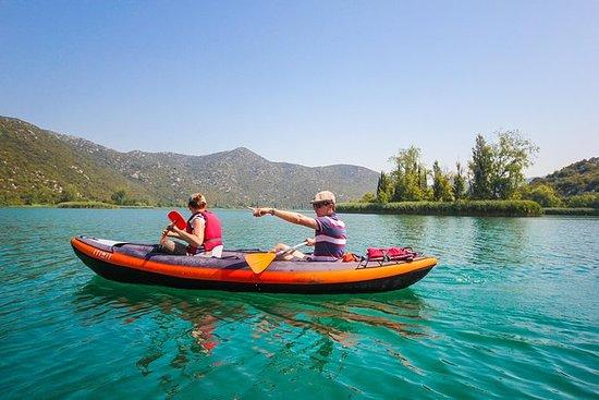 Bacina Lakes kajakkpadling eventyr
