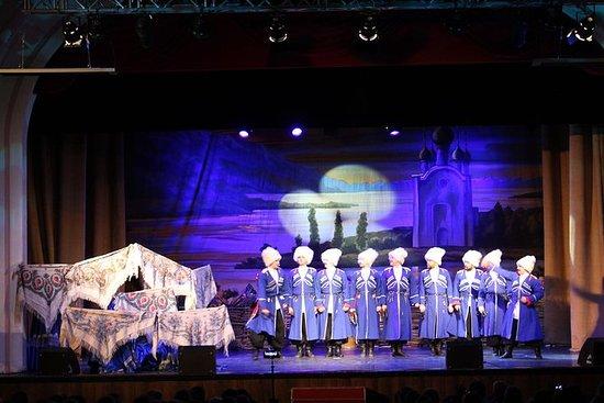 Spectacle folklorique des Cosaques...
