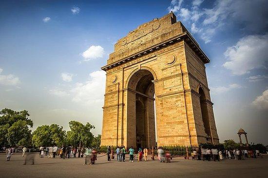 Delhi bytur hele dagen