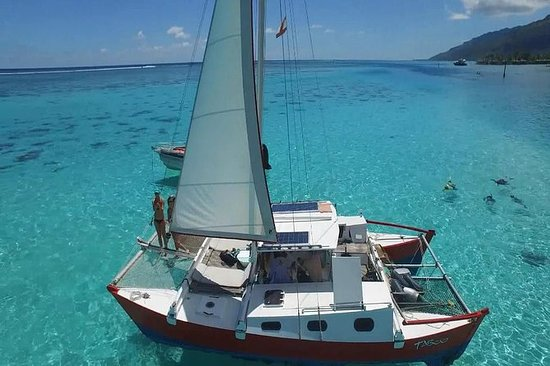Sail Moorea on a Catamaran Named Taboo